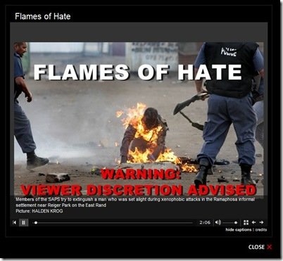 flames of hate