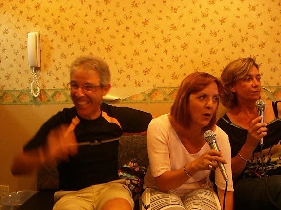 Mi padre, mi madre y Marta.