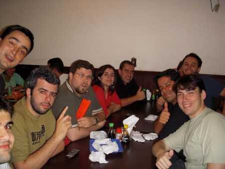 Happy Hour no final do Evento