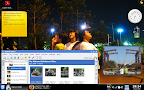 View of My KDE 4 Desktop