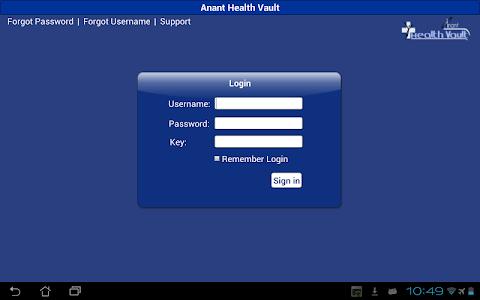 Anant Health Vault screenshot 0