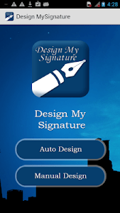 Design My Signature-Sign Maker screenshot 0