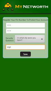 MyNetworth screenshot 1