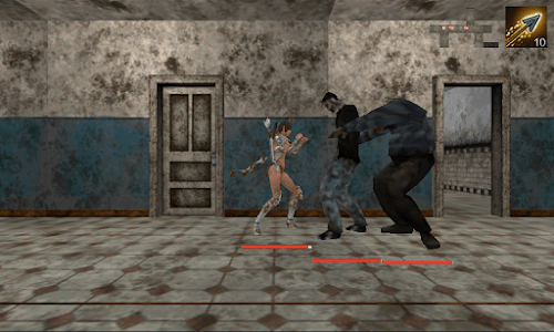 The Girl, Enclosed Zombie screenshot 1