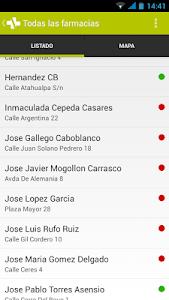 Farmacias de Cáceres screenshot 1