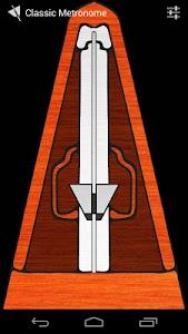 Classic Metronome Free screenshot 1