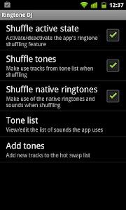 Ringtone DJ screenshot 1