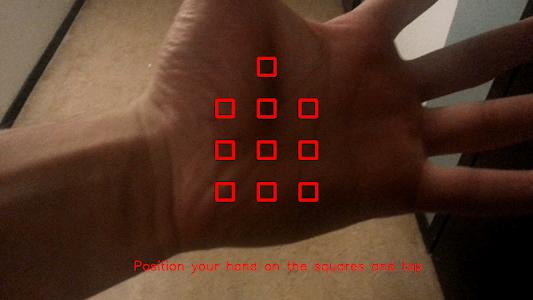 HandSkinTracking screenshot 4