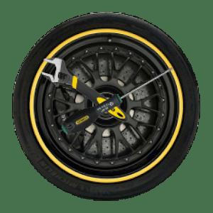 download Wheel Analog Clock HD free apk