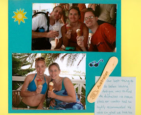 Antigua scrapbook scrapbooking travel