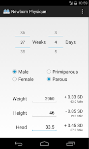 Newborn Physique screenshot 1