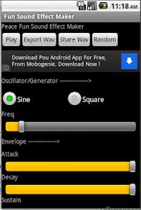 Fun Sound Effect Maker screenshot 0