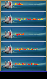 Airplane & Helicopter Ringtone screenshot 8