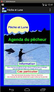 Pêche et Lune screenshot 0