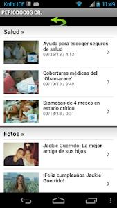 Periódicos de Costa Rica screenshot 3