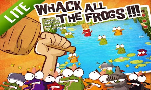 Whack The Frog Lite screenshot 1