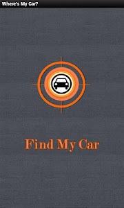 Find My Car screenshot 0