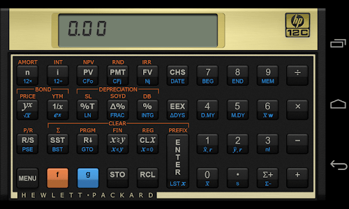 HP 12c Financial Calculator screenshot 0