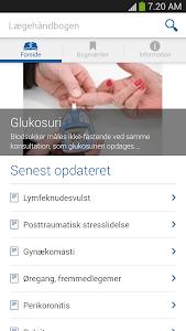 Lægehåndbogen screenshot 0