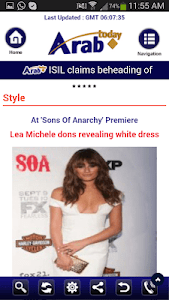 Arab Today mini screenshot 6