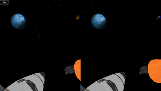 VR Space Walk screenshot 2
