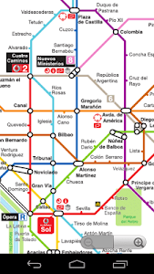 Madrid Metro Map screenshot 1