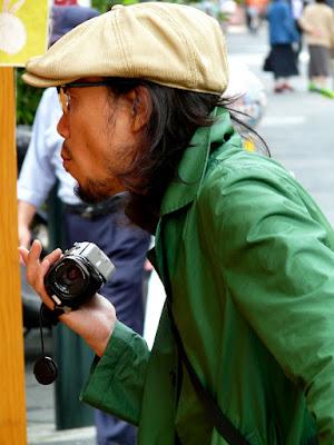 Japonés en Asakusa