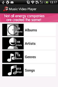 Music Video Player screenshot 0