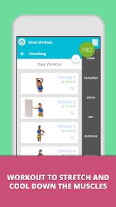 Chest Workout Lumowell screenshot 12