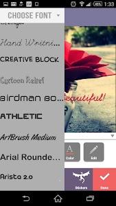 Textgram - Text on Pics screenshot 4