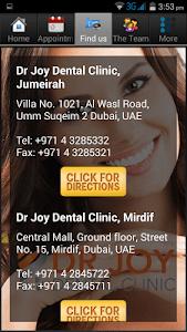 Dr Joy dental clinic UAE screenshot 1