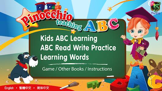 Pinocchio Teaching ABCs (Kids) screenshot 0