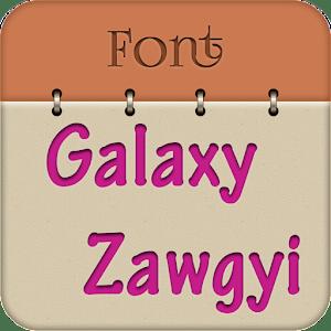 Zawgyi Design Galaxy Font