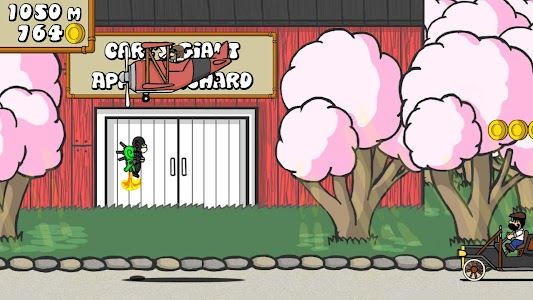 Dr. Gentleman's Jetpack Run screenshot 3