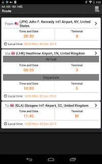 Airline Flight Status Tracking screenshot 23