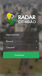 Radar Cidadão screenshot 0
