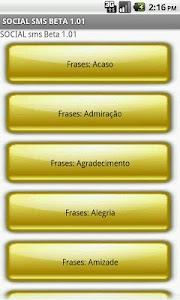 Social SMS Beta screenshot 1