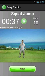 Easy Cardio screenshot 2