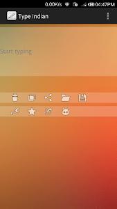 Type Indian screenshot 0