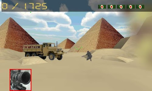 sniper army: pyramids war screenshot 2