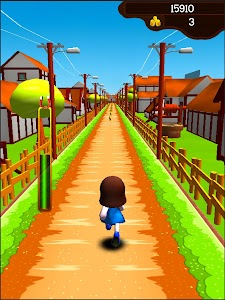 Dorae Run - Cute 3D runner screenshot 12
