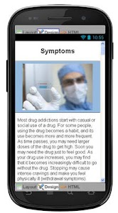 Drug Addiction Information screenshot 2
