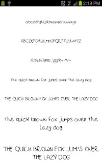 Marker Fonts for FlipFont free screenshot 02