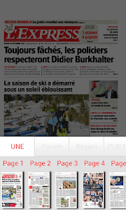 L'Express journal screenshot 2