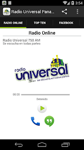 RADIO UNIVERSAL PANAMA screenshot 0