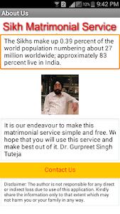 SikhMatrimonialService screenshot 1