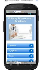 Epilepsy Disease & Symptoms screenshot 0