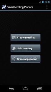 Smart Meeting Planner screenshot 0