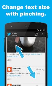 SocialLine for Twitter screenshot 3