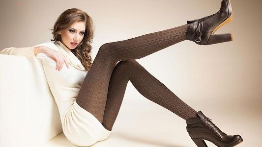 Stockings Girl HD Wallpapers screenshot 1